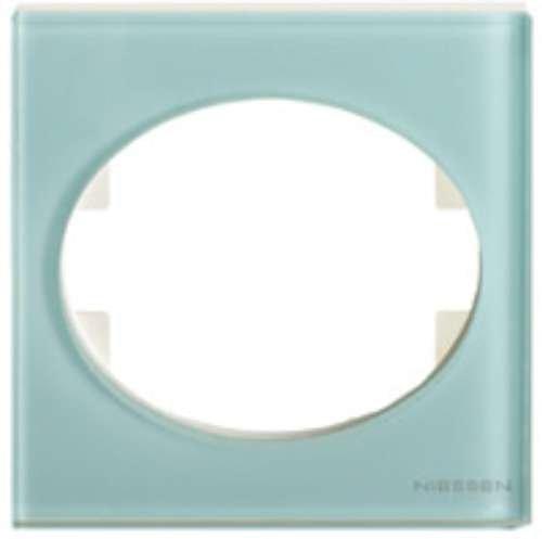 Niessen tacto - Marco 1 elemento tacto cristal glasse