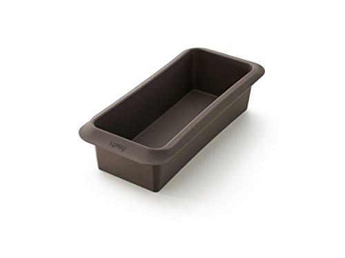 Lékué Molde para Hacer Pan, Silicona, marrón, 25 cm