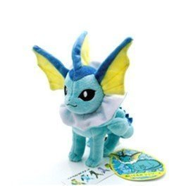 Neu Pokemon Pikachu Monster 20cm Plüsch Puppe Spielzeug Vaporeon (Plüsch Monster Puppen)