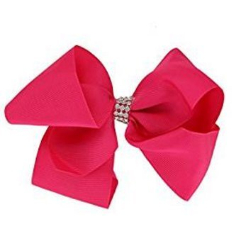 Danapp Cute Baby Big Bow Hair Clip, rot, 1 (Rot Bows Hair)