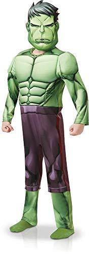 Rubie' s 640839s ufficiale marvel avengers hulk deluxe child costume-small età altezza 104cm, ragazzo, 3–4