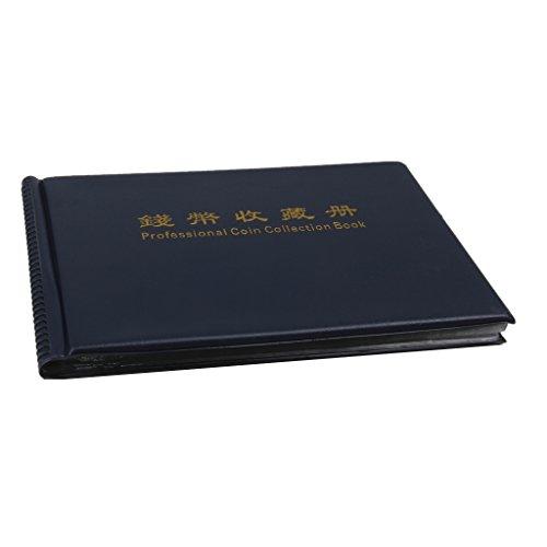 Sammlung Penny Buch (Sharplace 1x Penny Geldtasche Speichermünzenalbum Buch 240 Halter Sammlung für Geld Sammlung - Königsblau)