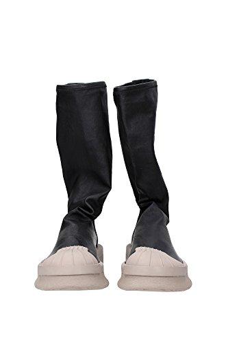 BA9944MASTODON Rick Owens Sneakers Unisex Cuir Noir Noir
