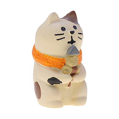 Amosfun Miniatur Katze fee Garten niedlichen Cartoon Kitty Tier Ornamente DIY Figuren für Handwerk und wohnkultur -
