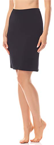 Merry style sottogonna donna ms10-204 (nero, xs)