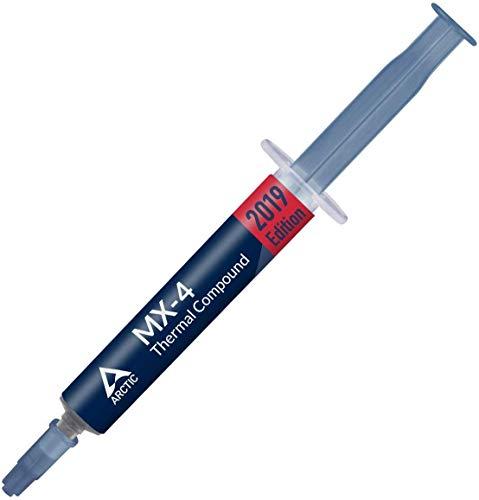 ARCTIC MX-4 (aktuelle Edition) - Qualitäts-Wärmeleitpaste für alle CPU-Kühler, extrem hohe Wärmeleitfähigkeit, niedriger thermischer Widerstand, sichere Anwendung, lange Haltbarkeit - 4 Gramm