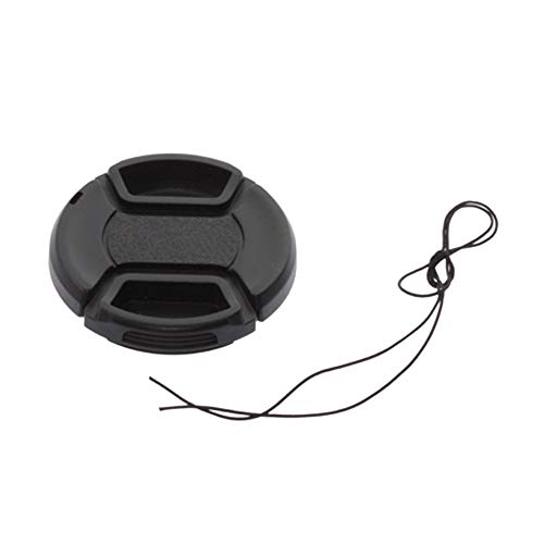 52mm Front Lens Hood Cap Cover for all Canon Lens Filter with cord black Front Lens Cap Cover