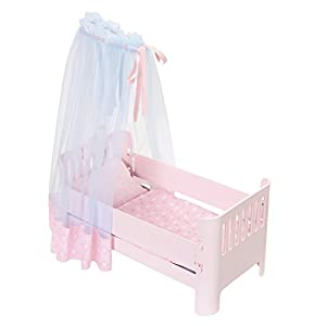 Zapf Baby Annabell Sweet Dreams Bed Cama/Cuna para muñecas - Accesorios para muñecas (Cama/Cuna para muñecas, 3 año(s), Azul, Rosa, Baby Annabell, 46 cm, Chica)