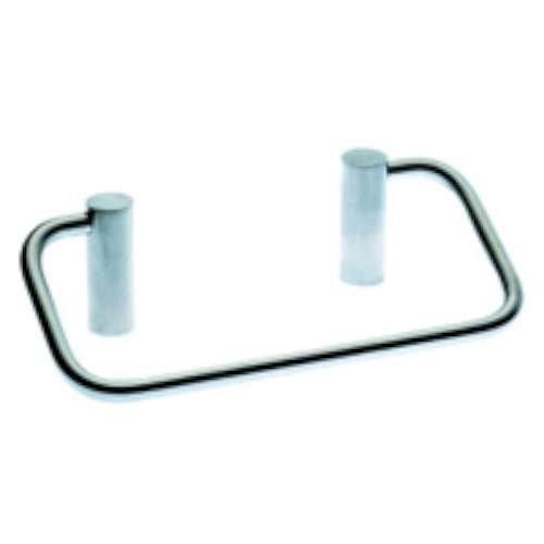 Cosmic – Porte-serviette anneau mat en acier inoxydable