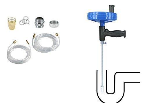 Abflussreiniger Set + Rohrreinigungswelle Rohrreiniger Spirale Rohr Reiniger Rohrreinigung