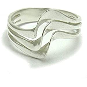 Sterling silber ring 925 Empress jewellery Größe 46 - 69