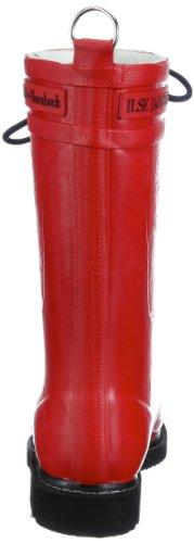 Ilse Jacobsen 3/4 Rubberboot Rub 15, Bottes de pluie femme Rouge (TR-B2-Rouge-124)