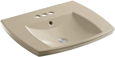 Kohler K-2381-4-33 Kelston Self-Rimming Lavatory with 4