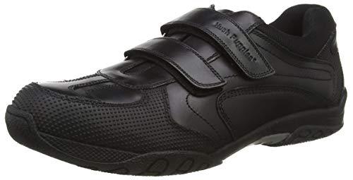 Hush Puppies Jezza, Zapatos para Uniformes de Escuela para Niños, Negro, 26 EU