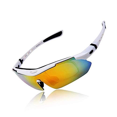 BAIJJ Wolfbike männer MTB straße Berg Radfahren Brillen Fahrrad uv400 Sport Sonnenbrille Brille polarisierte Sonnenbrille 5 objektiv