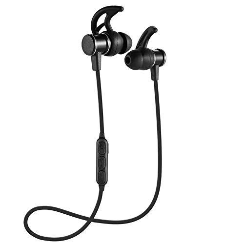 In Ear Ohrhörer Active Rauschunterdrückung, kabelgebundene Kopfhörer mit 15 Stunden Spielzeit und eingebautem Mikrofon