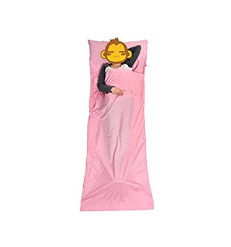 Ultralight Sleeping Bag Liner with Skin-friendly Material Portable Travel Outdoor Bed Sheet Multifunctional ,
