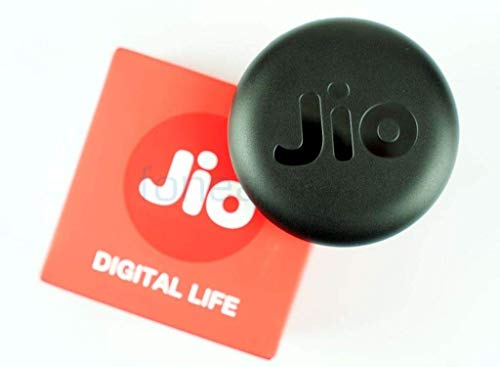 Reliance JioFi 150 Mbps Wireless Router 4G Hotspot Data Card Dongle  Black