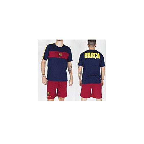 Pijama adulto del Fútbol Club Barcelona verano – L