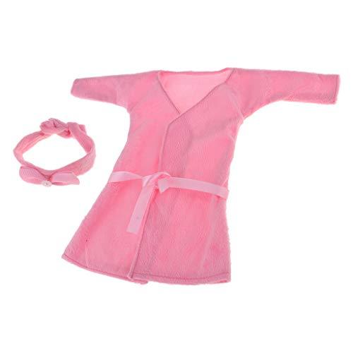 perfeclan Puppen Kleidung Schlafanzug Nachtwäsche Anzug Für 1/3 BJD Puppe Zubehör - # 2