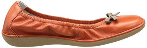 TBS  Macash,  Ballerine donna Rosso (Rouge (Carmin/Taupe))
