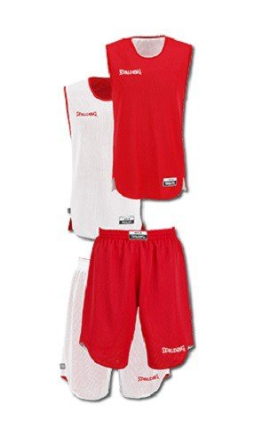 Spalding Giacche sportive e tecniche Double Face Set Red / White 10a