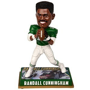 Philadelphia Eagles Bobblehead - 8 Inch - Retired Player - Randall Cunningham #12 by Forever Collectibles
