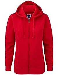 Z266F Damen Authentic Hooded Sweatjacke Sweatshirtjacke Jacke mit Kapuze 328b2c0f86