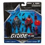GI Joe 50th Anniversary Actionfiguren 2-Pack ´Night Marksmen´ mit Low-Light vs. Night Viper