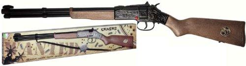 Villa Jouets 3160-Fusil Jouet en métal à 12Coups 125DB, Kansas Black