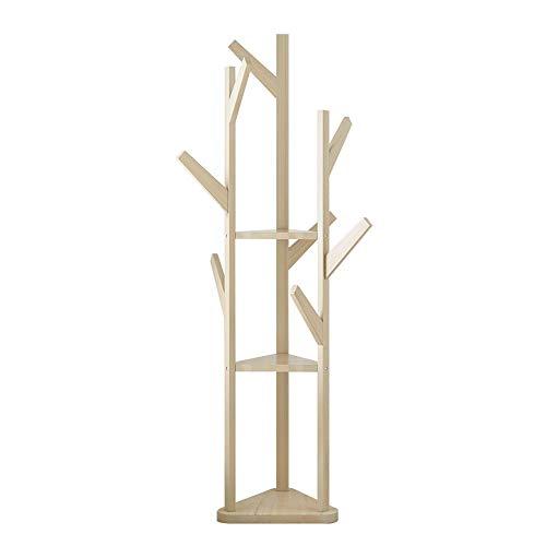 Perchero Bastidores De Bambú Simples El Piso Perchero
