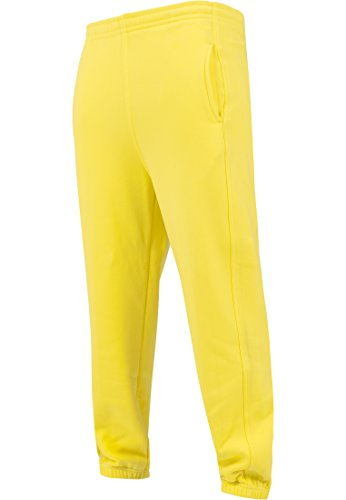 Urban Classics Damen Hose Loose Fit Sweatpants Yellow