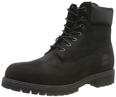Timberland Herren 6 Inch Premium Stiefel, Schwarz (Black 10073), 41 EU