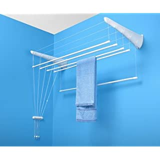 AIRAVIE Wall Clothes Airer 5 Rails 150 cm