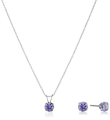 10k-white-gold-round-lavender-swarovski-zirconia-pendant-necklace-and-earrings-jewelry-set-18