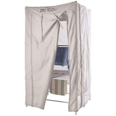 Drysoon - Copertura per stendino riscaldato Deluxe a 3 piani, per un'asciugatura degli abiti ancora più veloce