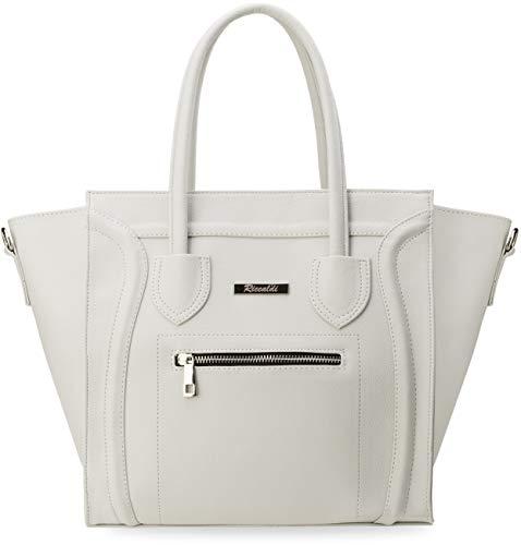 geschmackvoller Handtasche in Trapez - Form Like Damentasche grau