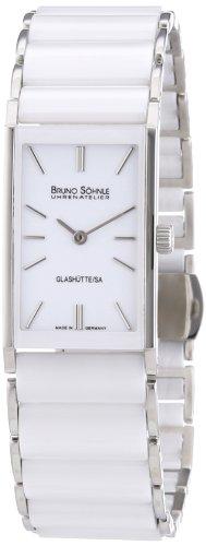 Bruno Söhnle - 17-93099-942 - Montre Femme - Quartz Analogique - Bracelet différents matériaux Blanc