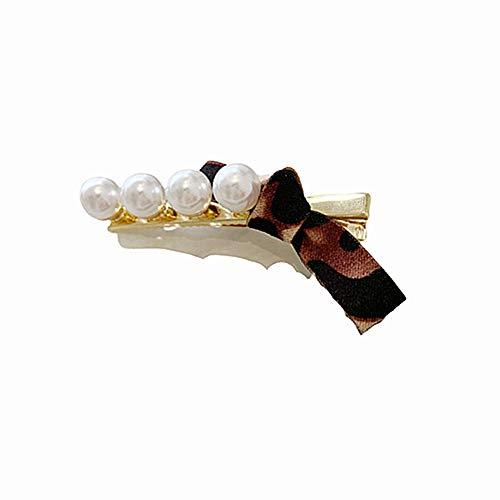 KANKOO Haarschmuck, Haarspangen Für Mädchen Und Frauen Exquisite Chic Clip Haarnadel Hochzeit Vintage Legierung Faux Perle Handgemachte Blume Geometrische Frühling Haarspange 7 (Heißesten Mädchen 2019)