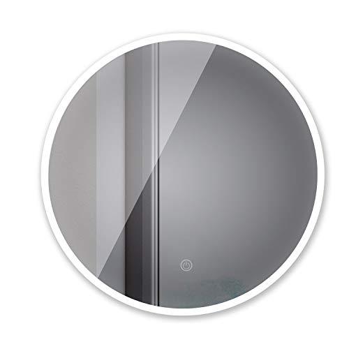 Sogoo® New 21 W Circular 60 cm ∅ espejo redondo