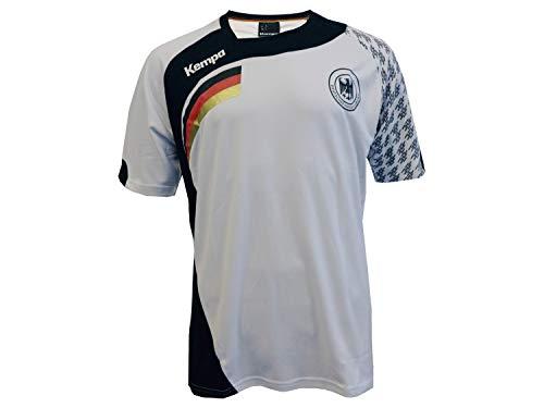 Kempa DHB Handball Trikot weiß Deutschland Home Jersey Fan Shirt WM EM, Größe:XL