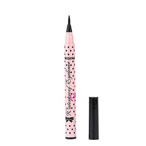 Minzhi Liquid Eyeliner Bleistift langlebiger Wasserdicht Nicht blühen Kajal