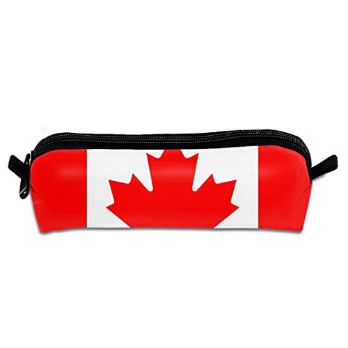 Canada Flag Pencil Case Stationery Pouch Bag Coin Purse Multipurpose Travel Pouch Cosmetic Bag Organizer For Pen With Zipper
