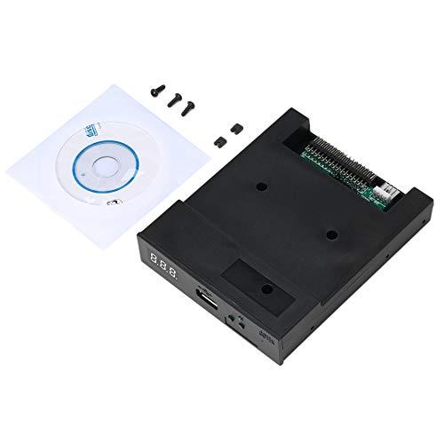 Schwarz SFR1M44-U100K 5V 3,5 1,44 MB 1000 Diskettenlaufwerk zu USB-Emulator Simulation Einfacher Stecker für Musical Keyboad