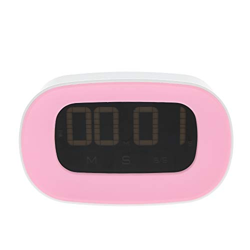 Shuzhen,Digitaler Touchscreen-Küchencountdown-Timer(Color:ROSA)