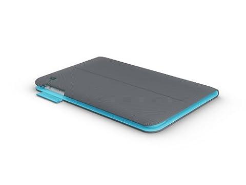 LOGICOOL TM525DG Tablet-Schutzhülle, apple-ipad-mini, dunkelgrau, Stück: 1 (Mini Wrap Around Wrap)
