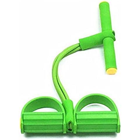 Abdominales equipo de la aptitud,ANGTUO Inicio deporte de la reunión de ejercicios de cintura fina cuerda elástico tire de la cuerda del pedal del pie
