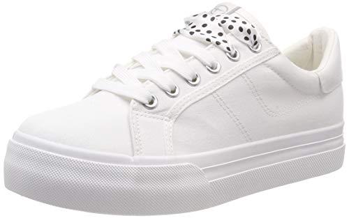 Tamaris Damen 1-1-23602-22 100 Sneaker Weiß (White 100), 42 EU