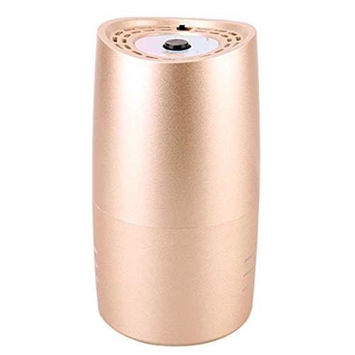 NPNPNP Autoluftreiniger Auto Luftreiniger Luftreiniger Mini Auto Car Fresh Air Anion Ionic Purifier Oxygen Bar Ozone Ionizer Cleaner Fresher gelb
