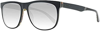 Guess GU6913 05B 56 Monturas de gafas, Negro (Negro/), 56.0 Unisex Adulto